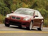 BMW M5 US-spec (E60) 2005–09 images