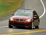 BMW M5 US-spec (E60) 2005–09 pictures