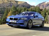 BMW M5 UK-spec (F10) 2011 pictures