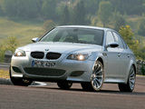 Images of BMW M5 (E60) 2004–09
