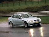 Images of BMW M5 US-spec (E60) 2005–09