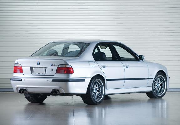 of BMW M5 US-spec (E39) 1999–2004
