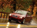 Photos of BMW M5 US-spec (E60) 2005–09