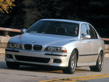 Pictures of BMW M5 US-spec (E39) 1999–2004