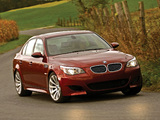 Pictures of BMW M5 US-spec (E60) 2005–09