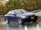 BMW M5 US-spec (E60) 2005–09 wallpapers