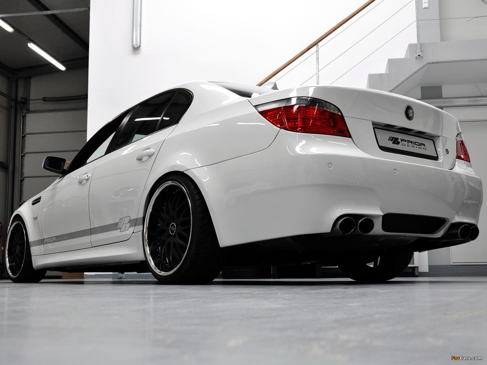 Prior-Design BMW M5 Sedan (E60) 2009-10 wallpapers (1600x1200)