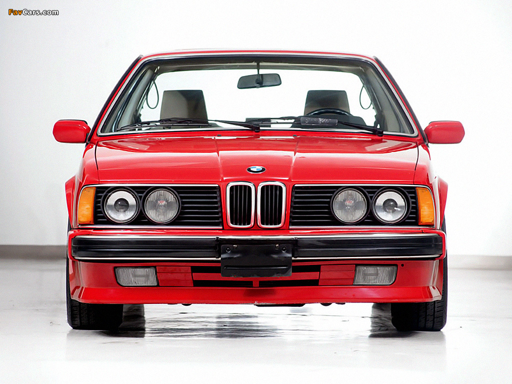 BMW M6 (E24) 1986-88 photos (1024x768)