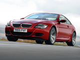 BMW M6 UK-spec (E63) 2005–10 wallpapers