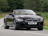 BMW M6 Cabrio UK-spec (E64) 2007–10 photos