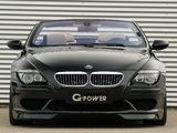 G-Power BMW M6 Hurricane Cabrio (E64) 2008–10 images