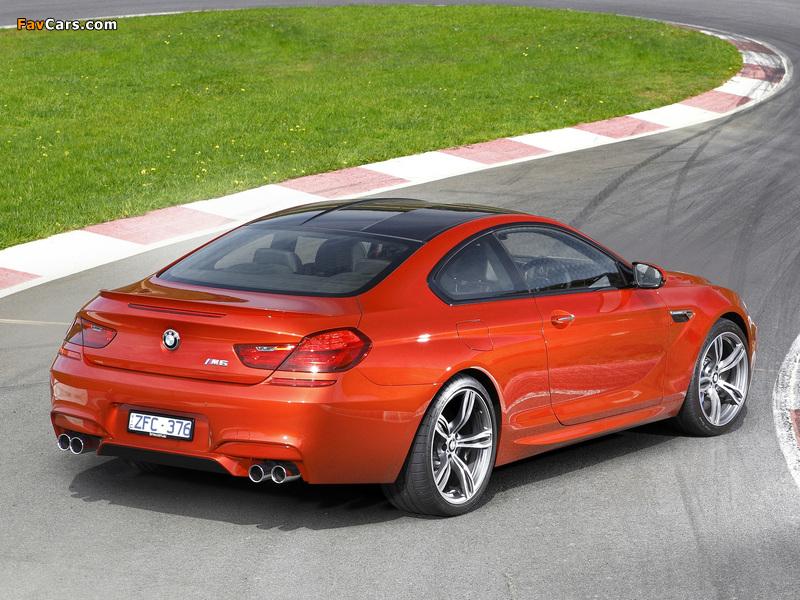 BMW M6 Coupe AU-spec (F13) 2012 images (800 x 600)