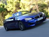 BMW M6 Cabrio (F12) 2012 images
