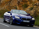 BMW M6 Cabrio ZA-spec (F12) 2012 images