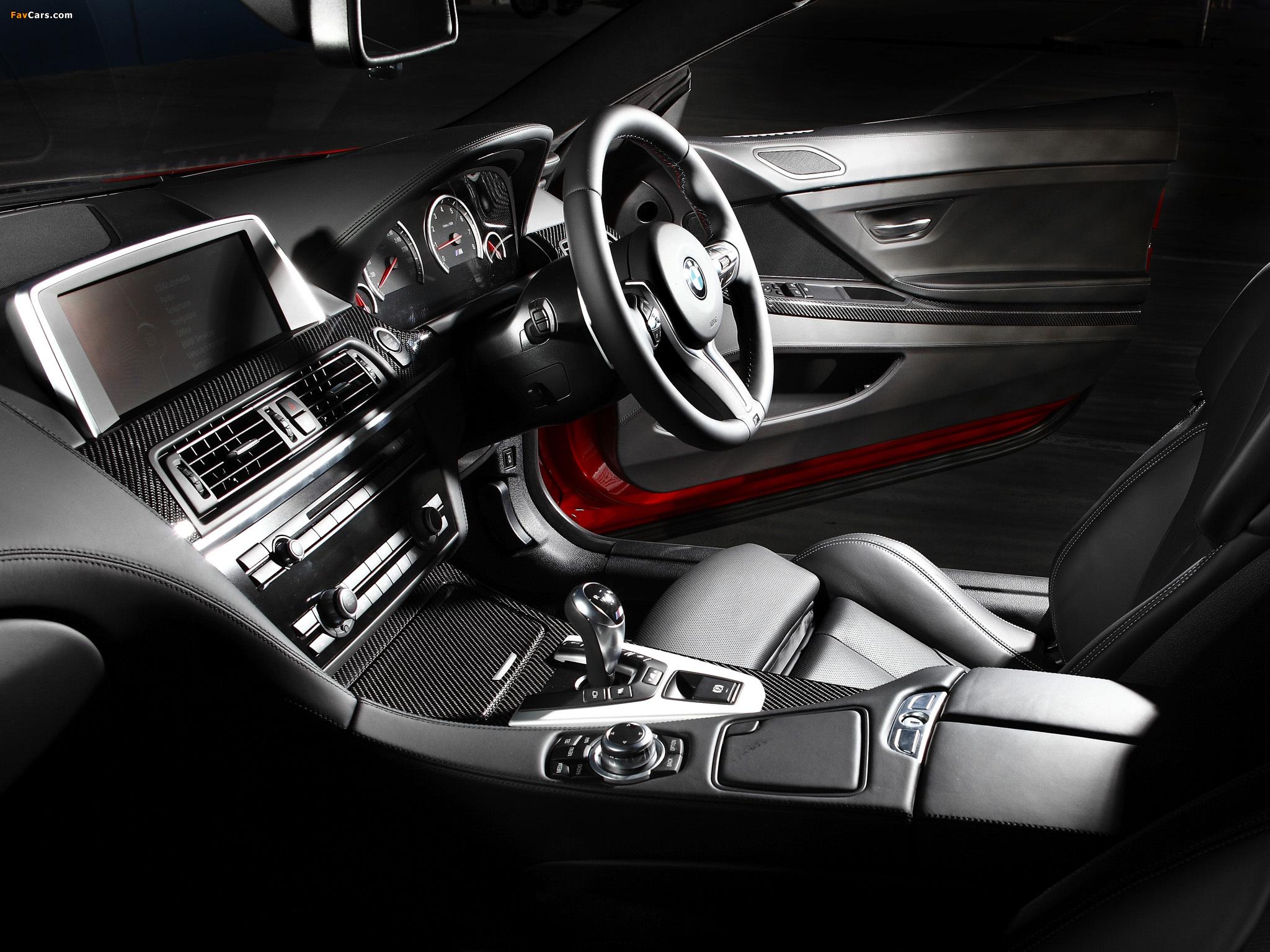 BMW M6 Coupe AU-spec (F13) 2012 images (2048 x 1536)