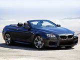 BMW M6 Cabrio US-spec (F12) 2012 images