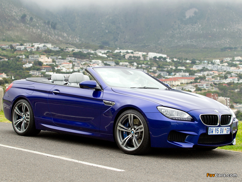 BMW M6 Cabrio ZA-spec (F12) 2012 images (800 x 600)