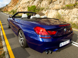 BMW M6 Cabrio ZA-spec (F12) 2012 photos