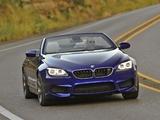 BMW M6 Cabrio US-spec (F12) 2012 photos
