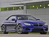 BMW M6 Cabrio US-spec (F12) 2012 pictures