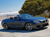 BMW M6 Cabrio US-spec (F12) 2012 pictures