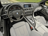 BMW M6 Cabrio US-spec (F12) 2012 wallpapers