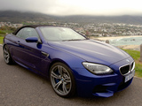 BMW M6 Cabrio ZA-spec (F12) 2012 wallpapers