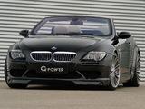 Images of G-Power BMW M6 Hurricane Cabrio (E64) 2008–10