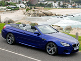 Images of BMW M6 Cabrio ZA-spec (F12) 2012