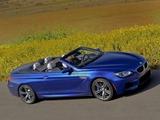 Images of BMW M6 Cabrio US-spec (F12) 2012