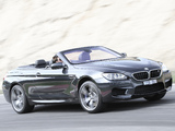 Images of BMW M6 Cabrio AU-spec (F12) 2012