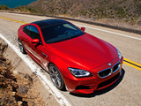 Images of BMW M6 Coupe US-spec (F13) 2012