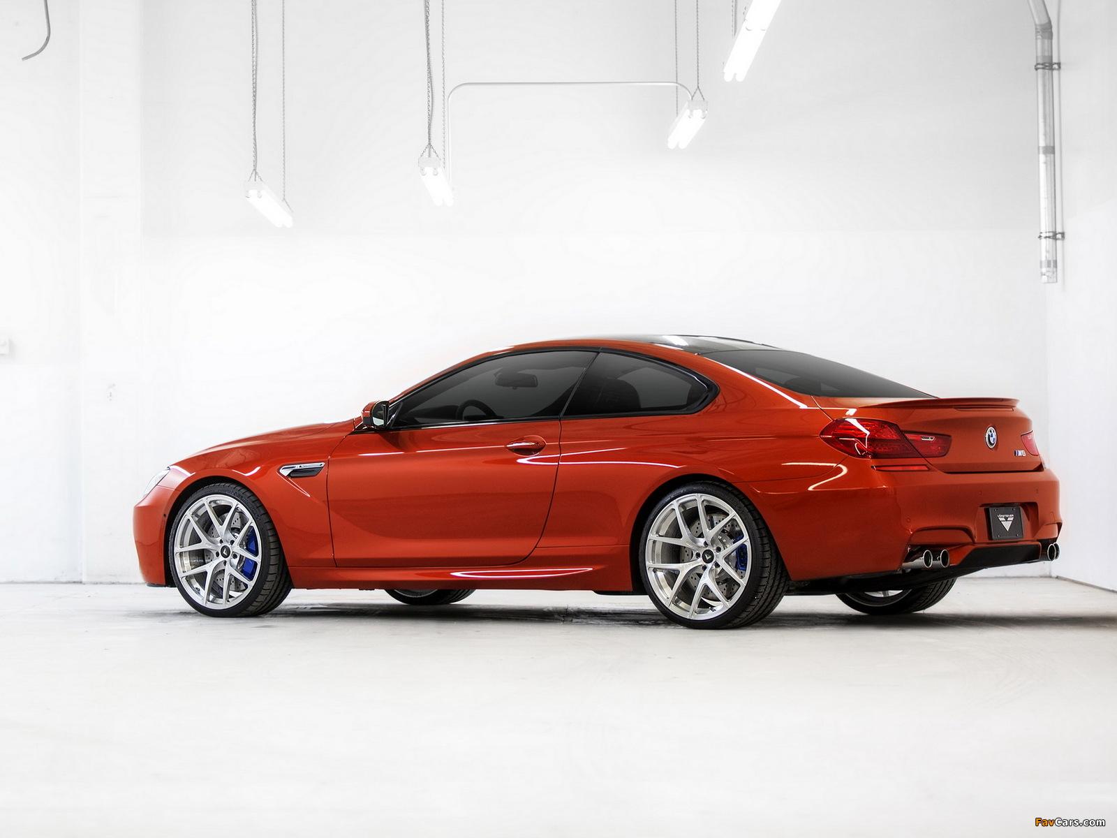 Images of Vorsteiner BMW M6 Coupe (F13) 2013 (1600 x 1200)
