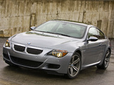 Photos of BMW M6 US-spec (E63) 2006–10