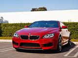 Photos of BMW M6 Coupe US-spec (F13) 2012
