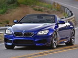 Photos of BMW M6 Cabrio US-spec (F12) 2012