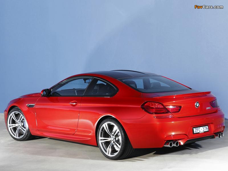 Photos of BMW M6 Coupe AU-spec (F13) 2012 (800 x 600)