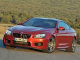 Pictures of BMW M6 Coupe (F13) 2012