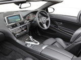 Pictures of BMW M6 Cabrio AU-spec (F12) 2012