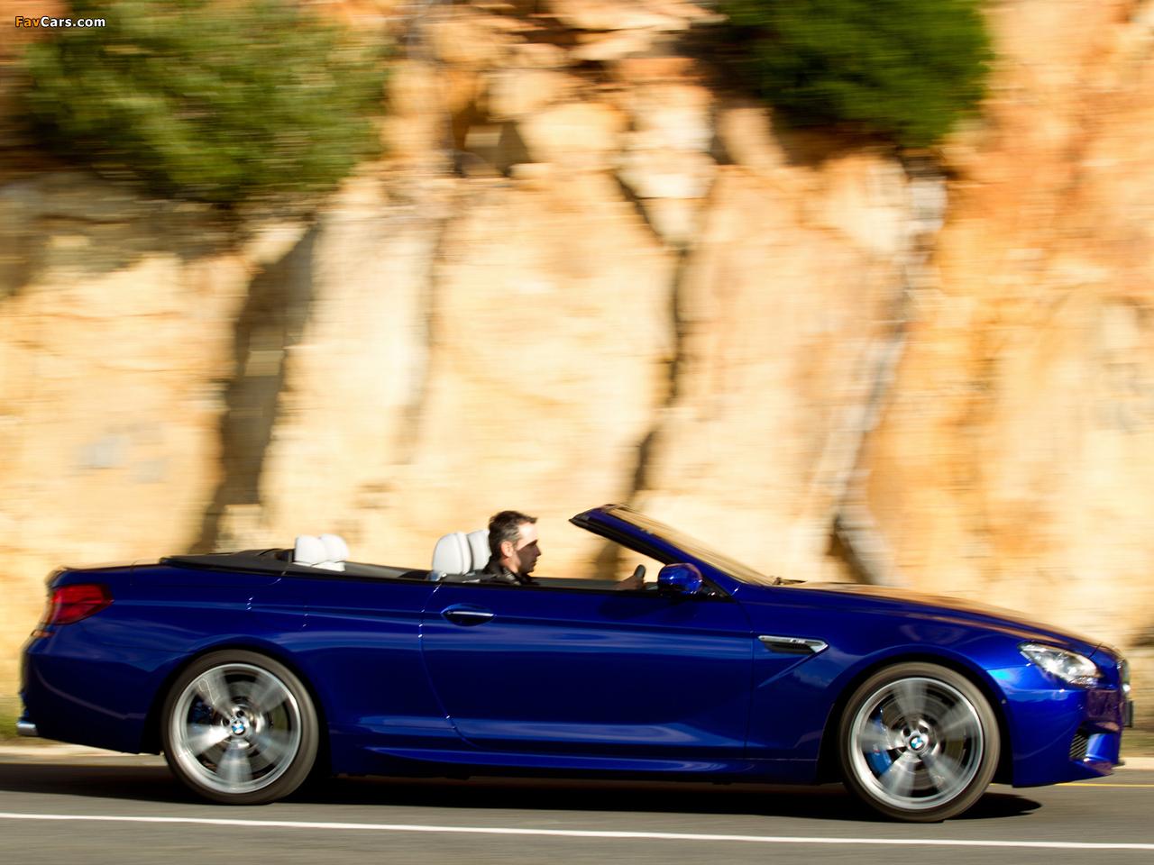 Pictures of BMW M6 Cabrio ZA-spec (F12) 2012 (1280 x 960)