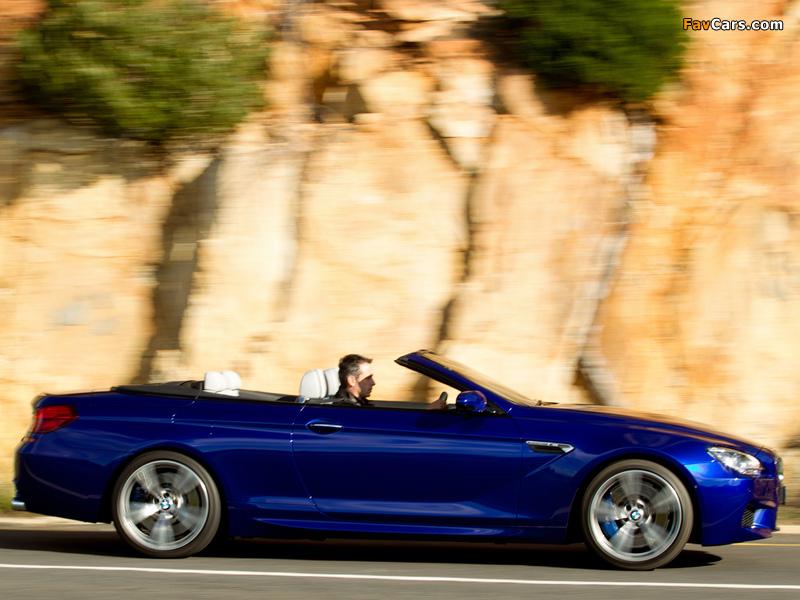 Pictures of BMW M6 Cabrio ZA-spec (F12) 2012 (800 x 600)