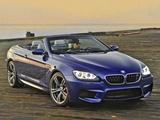 Pictures of BMW M6 Cabrio US-spec (F12) 2012