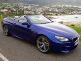 Pictures of BMW M6 Cabrio ZA-spec (F12) 2012
