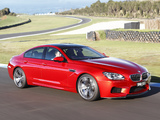 BMW M6 Gran Coupe AU-spec (F06) 2013 wallpapers