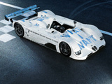 BMW V12 LMR Art Car by Jenny Holzer 1999 wallpapers