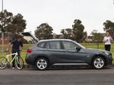 BMW X1 sDrive20d AU-spec (E84) 2010–12 wallpapers