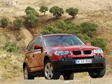 BMW X3 3.0i (E83) 2003–06 pictures