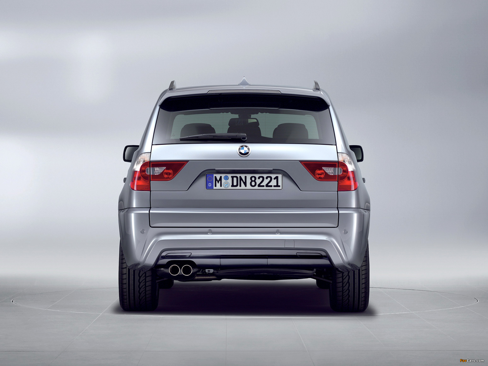 BMW X3 M Sports Package E83 2005 Wallpapers