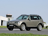 BMW X3 3.0sd (E83) 2007–10 wallpapers