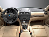 BMW X3 3.0si (E83) 2007–10 wallpapers